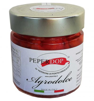 Peperoni di Pontecorvo DOP in Agrodolce