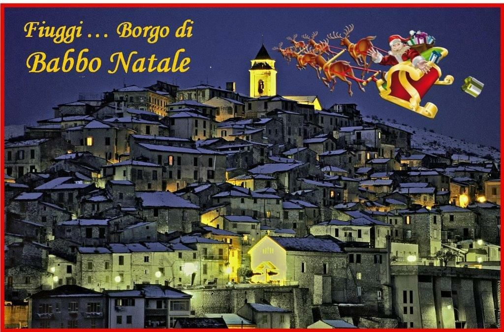 Percorso Babbo Natale.Il Borgo Di Babbo Natale A Fiuggi Evento Di Natale Trip Different